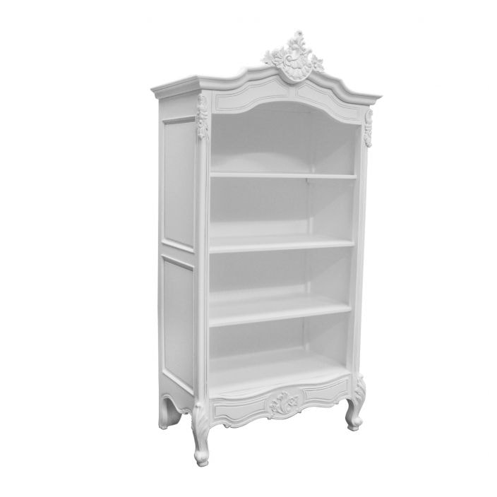 Antique French Display Cabinet Bookcase
