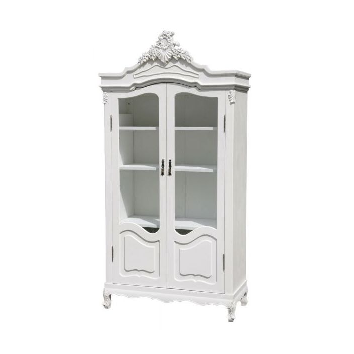 Antique French Display Cabinet Works Wonderful Alongside Our