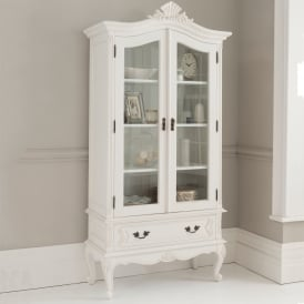 Antique French Style Display Cabinet