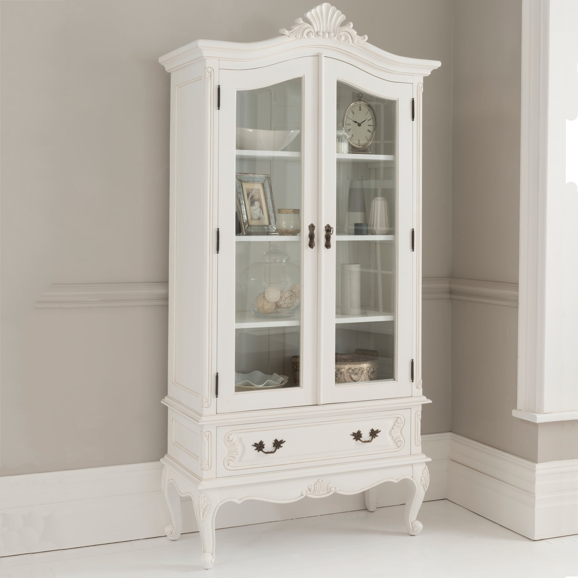 Genial Antique French Style Display Cabinet