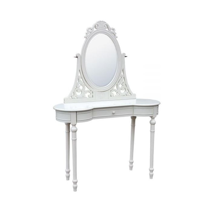 Antique french white dressing table for French white dressing table