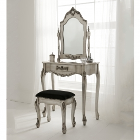 Antique French Style Dressing Table Set