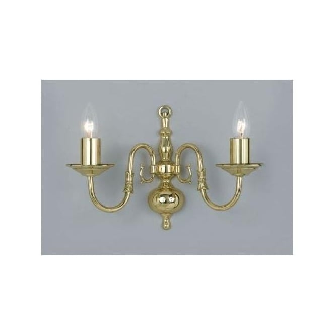 Antique French Style Flemish Wall Light
