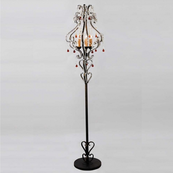 Antique French Style Floor Lamp