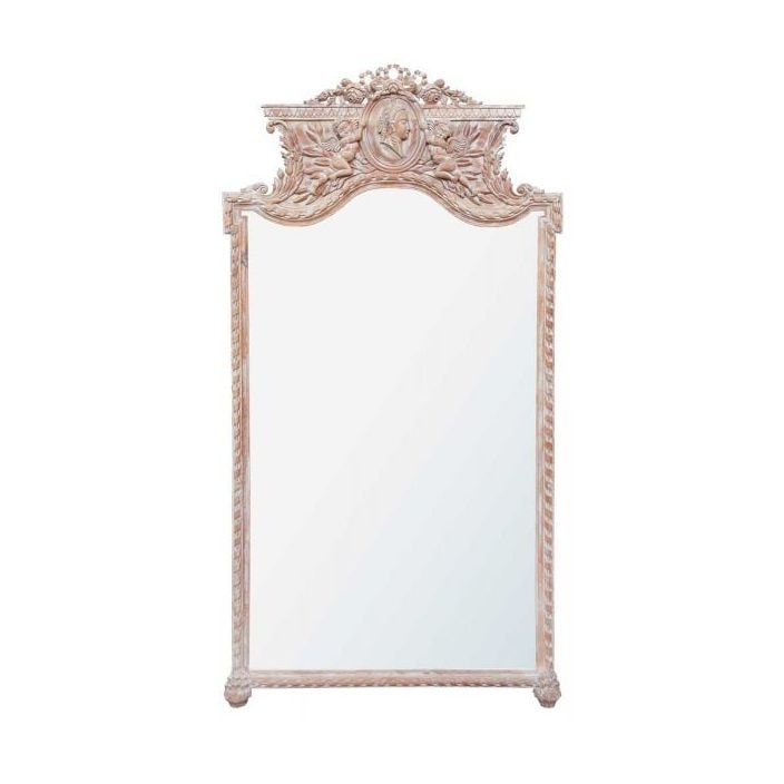 Antique French Style Floor Mirror Floor Standing Mirrors