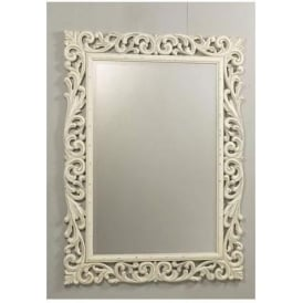Antique French Style Florence Mirror