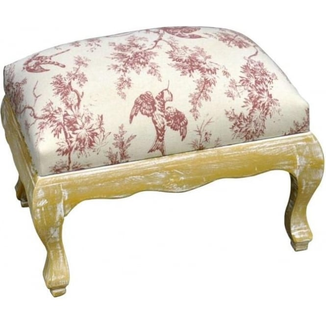 Antique French Style Footstool