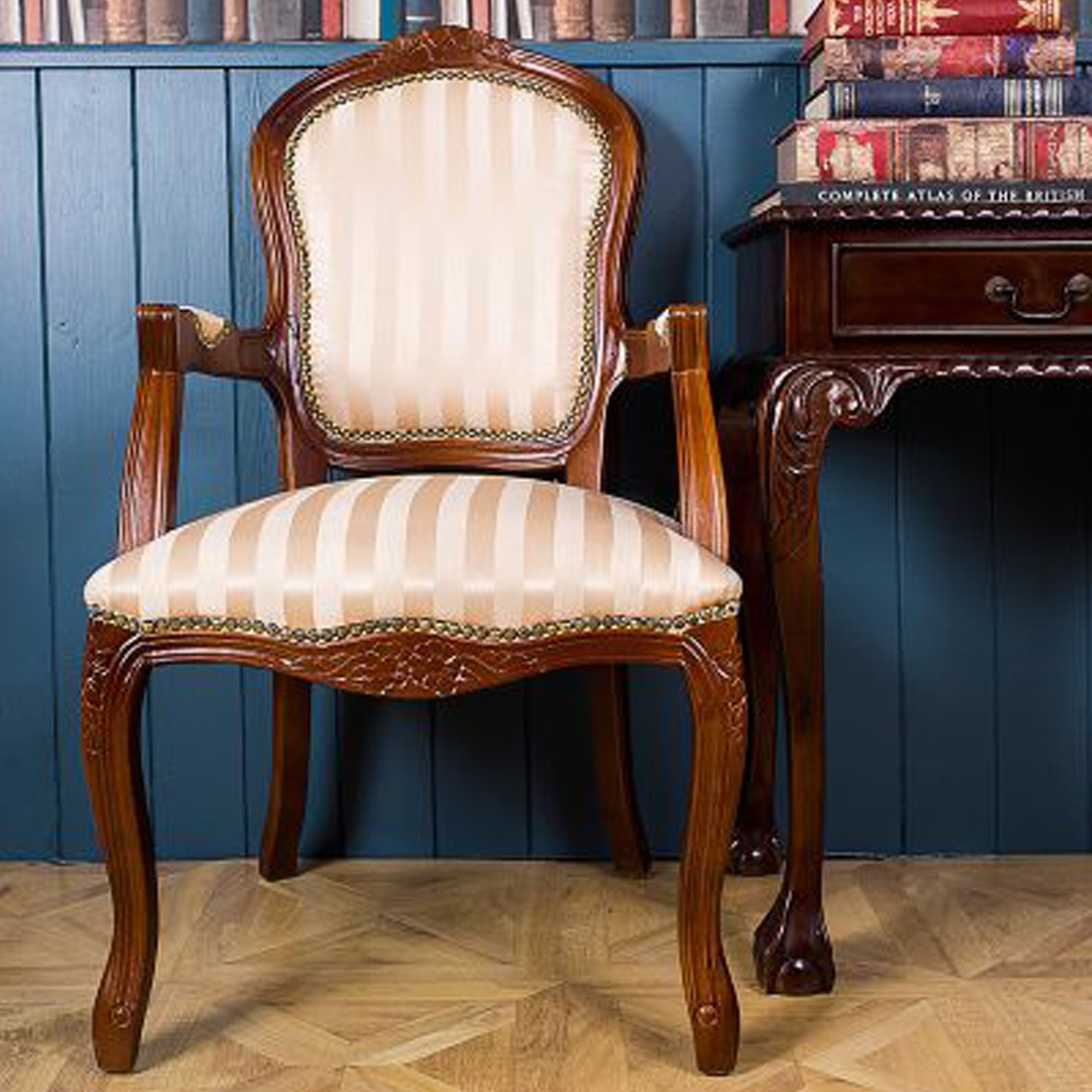 Antique French Style French Louis Armchair | Chair ...