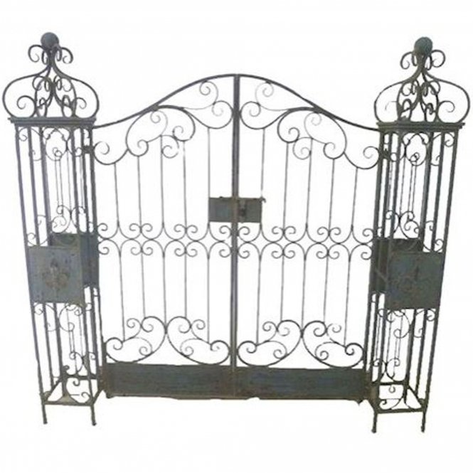 Antique French Style Gates