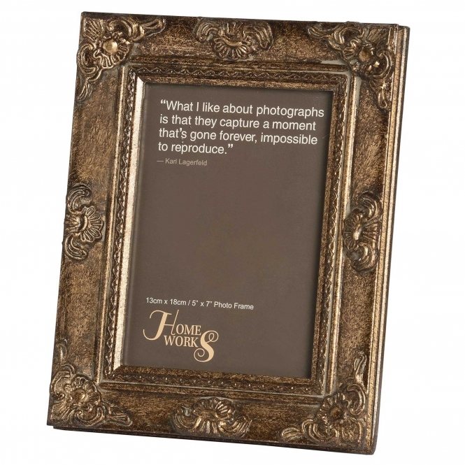 Antique French Style Gilded Photo Frame