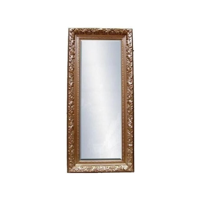 Antique French Style Gold Frame with Bevel Mirror