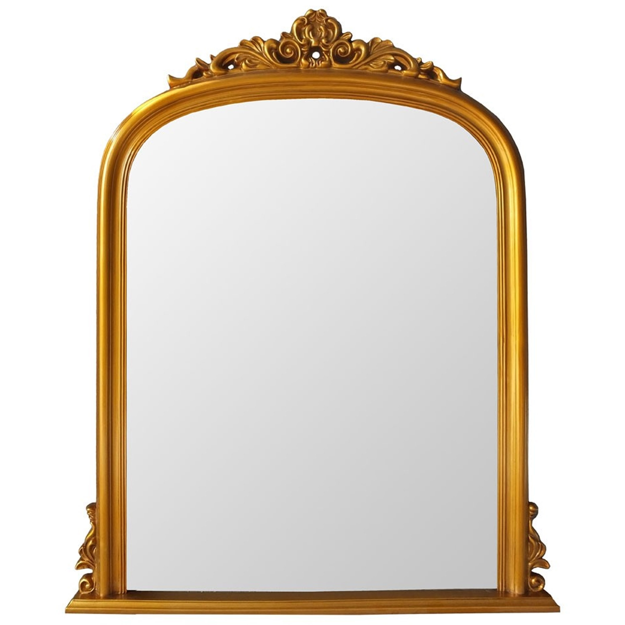 Antique French Style Gold Henrietta Wall Mirror | Wall ...