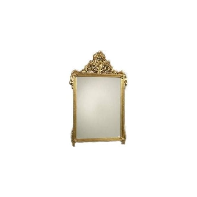 Antique French Style Gold Mirror 10
