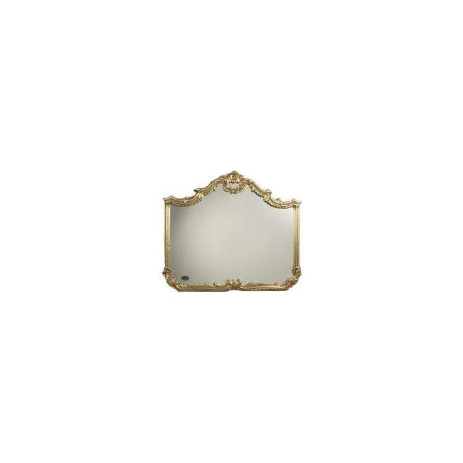 Antique French Style Gold Mirror 11