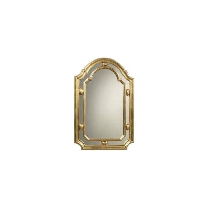 Antique French Style Gold Mirror 12