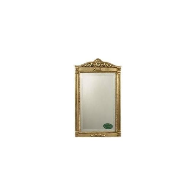 Antique French Style Gold Mirror 13