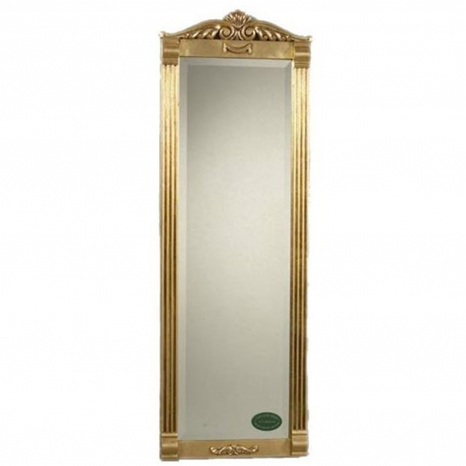 Antique French Style Gold Mirror 14