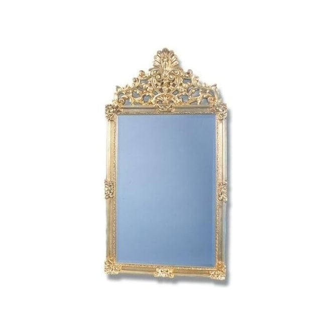 Antique French Style Gold Mirror 5