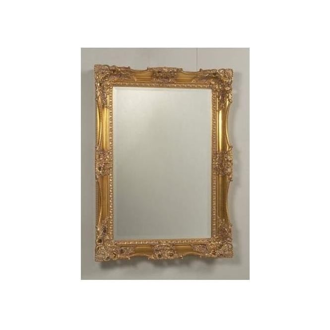 Antique French Style Gold Mirror 7