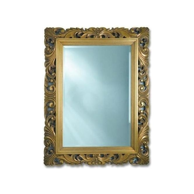 Antique French Style Gold Mirror