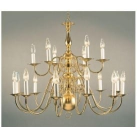Antique French Style Gold Pendant Light 2