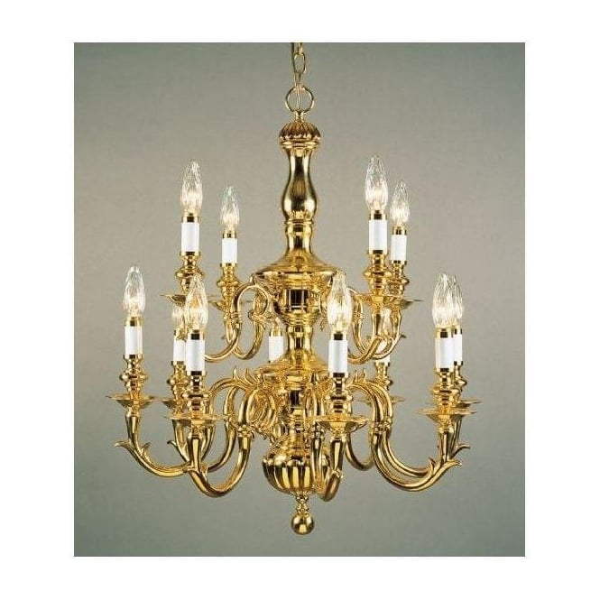 Antique French Style Gold Pendant Light 3