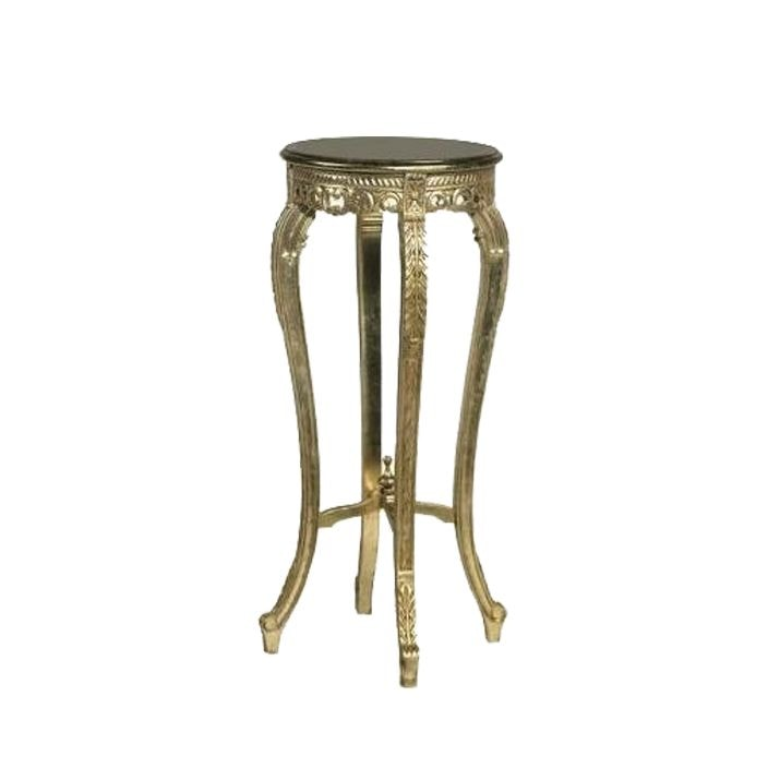 Antique French Style Gold Plant Stand Plants Pots