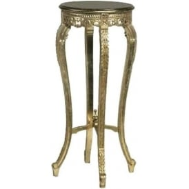 Antique French Style Gold Plant Stand