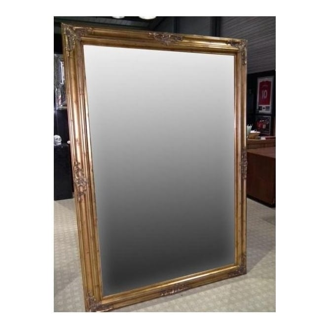 Antique French Style Gold Wall Mirror