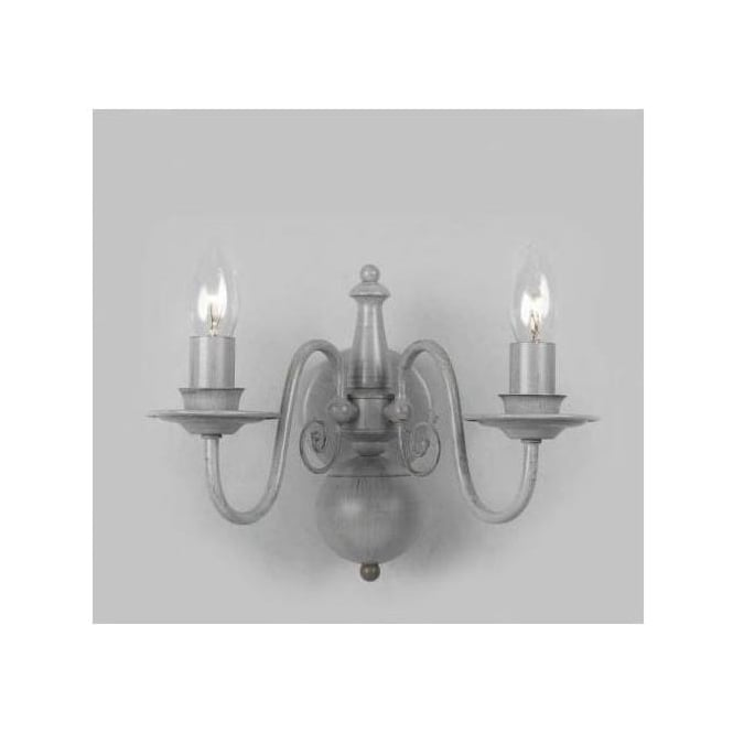 Antique French Style Grey Wall Light