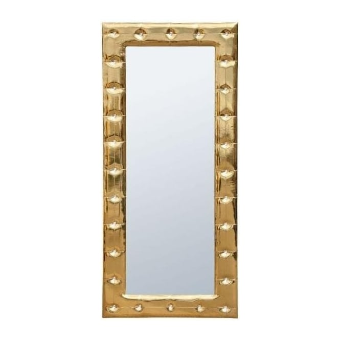 Antique French Style High Gloss Gold Framed Mirror