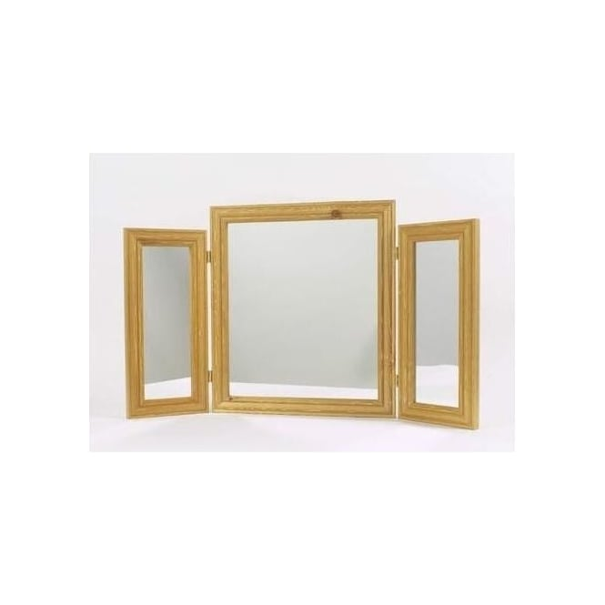 Antique French Style Hills Triple Mirror