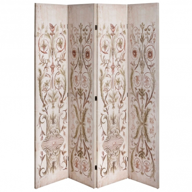 Antique French Style Louvred Baroque Divider