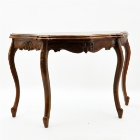 Antique French Style Mahogany Console Table