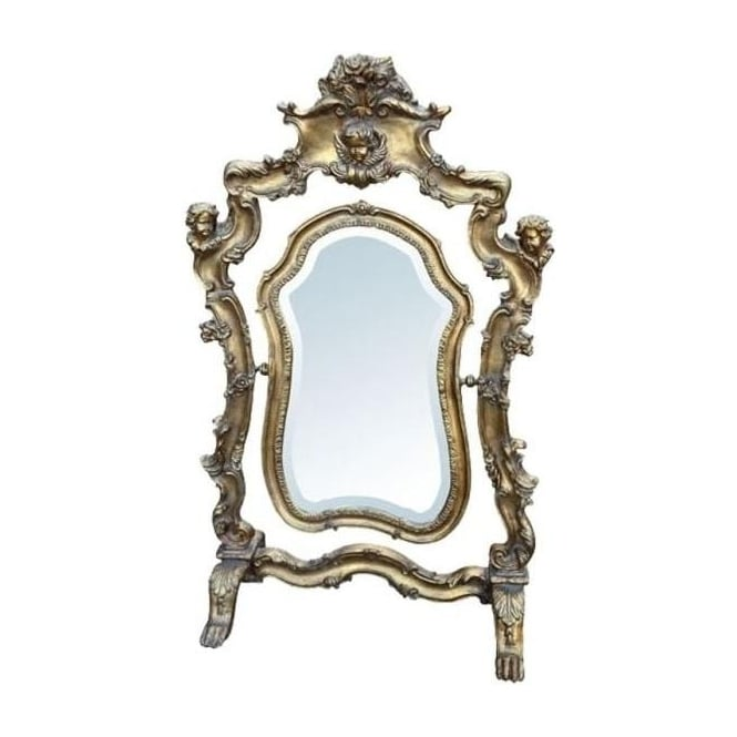 Antique French Style Mirror
