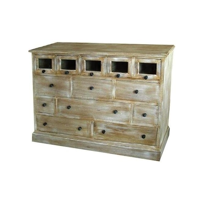 Antique French Style Multi Chest