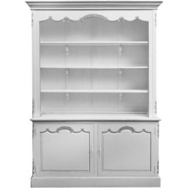 Antique French Style Open Bookcase