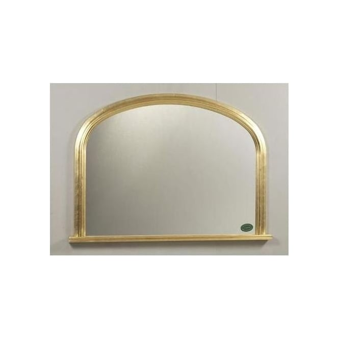 Antique French Style Stirling Overmantle Mirror