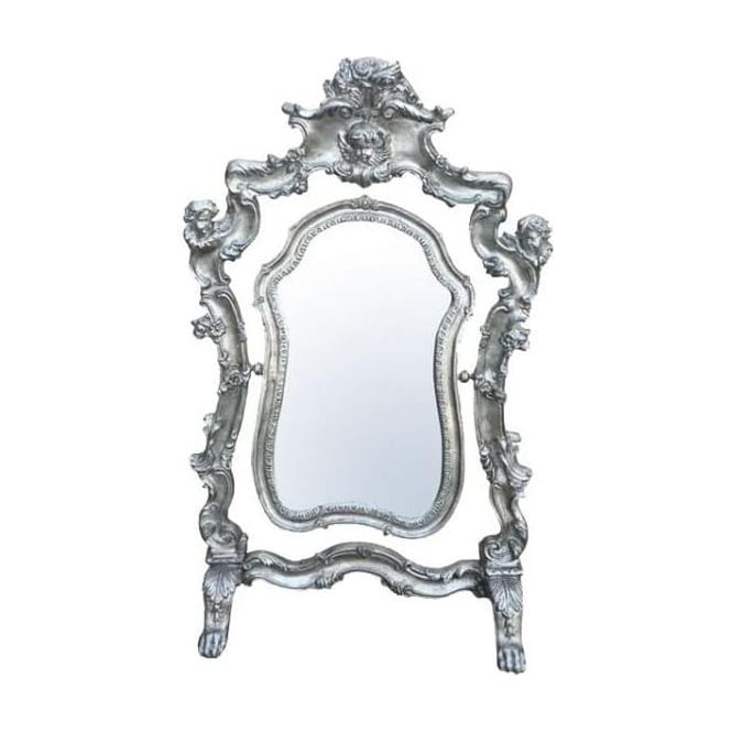 Antique French Style Swing Mirror