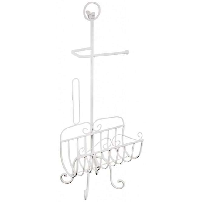 Antique French Style Toilet Roll Rack & Holder