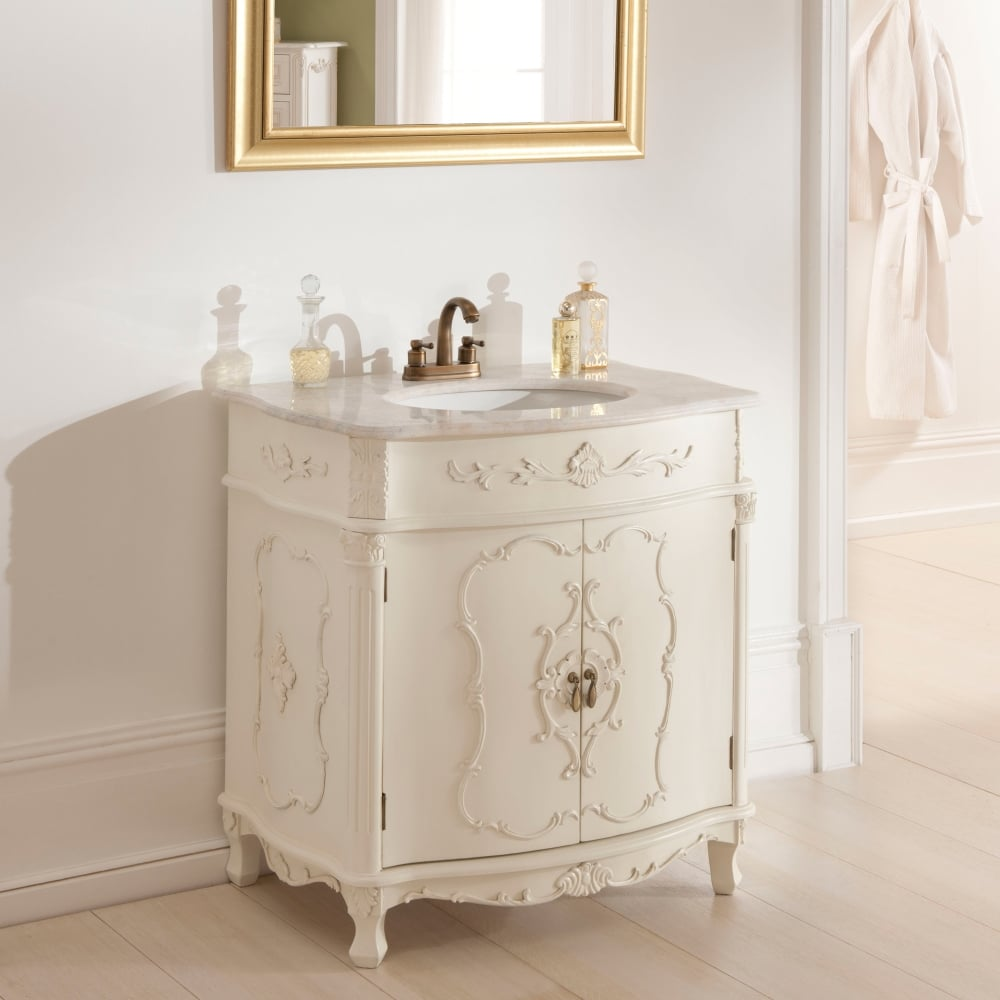 Antique French Vanity Unit | French Bathroom Furniture