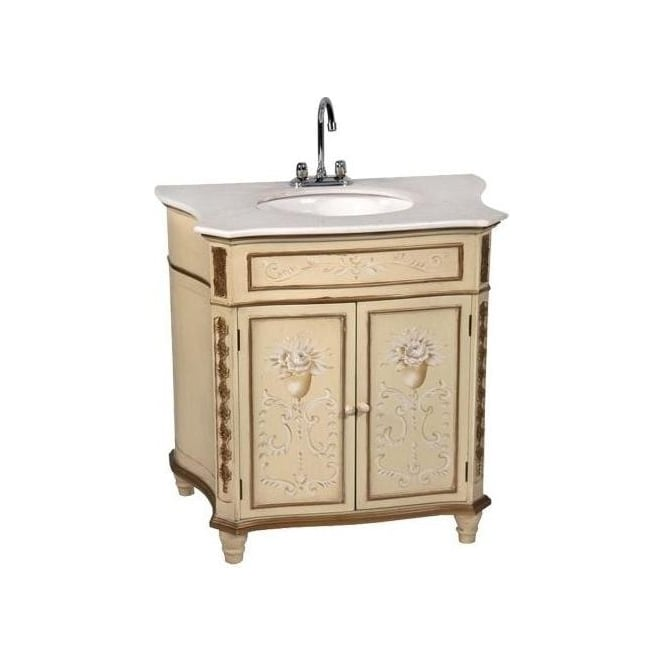 Antique French Style Vanity Unit