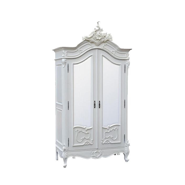 antique french style wardrobe french furniture range. Black Bedroom Furniture Sets. Home Design Ideas