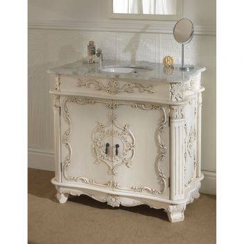 Antique French Vanity Unit