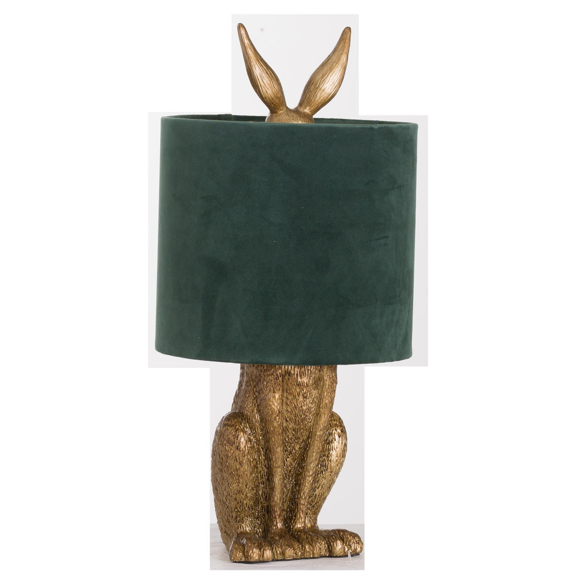 Antique Gold Hare Table Lamp Contemporary Lighting Table Lamps