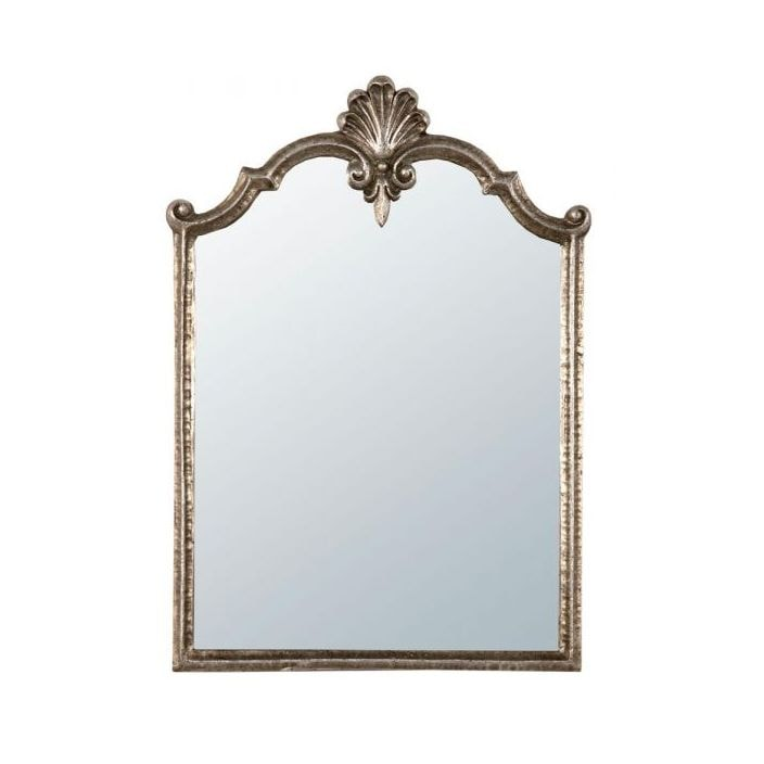 Antique Gold Metal Framed Mirror - French Mirrors from Homesdirect ...