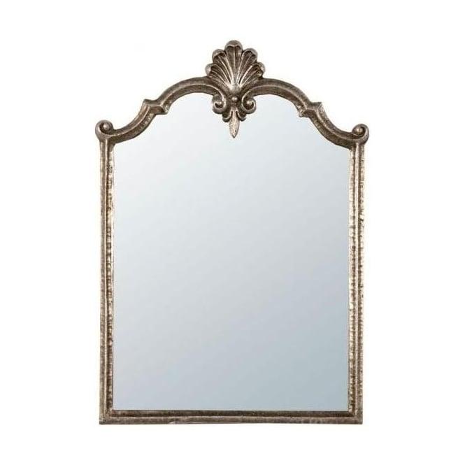 Antique Gold Metal Framed Mirror