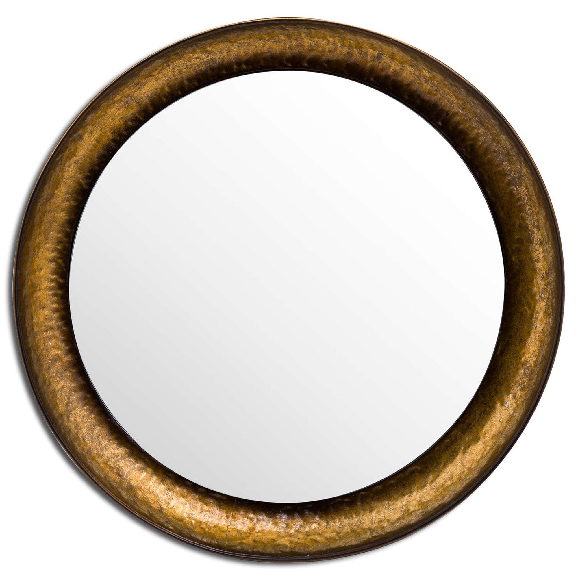 Antique Hammered Brass Mirrors Wall Mirrors Modern Mirrors