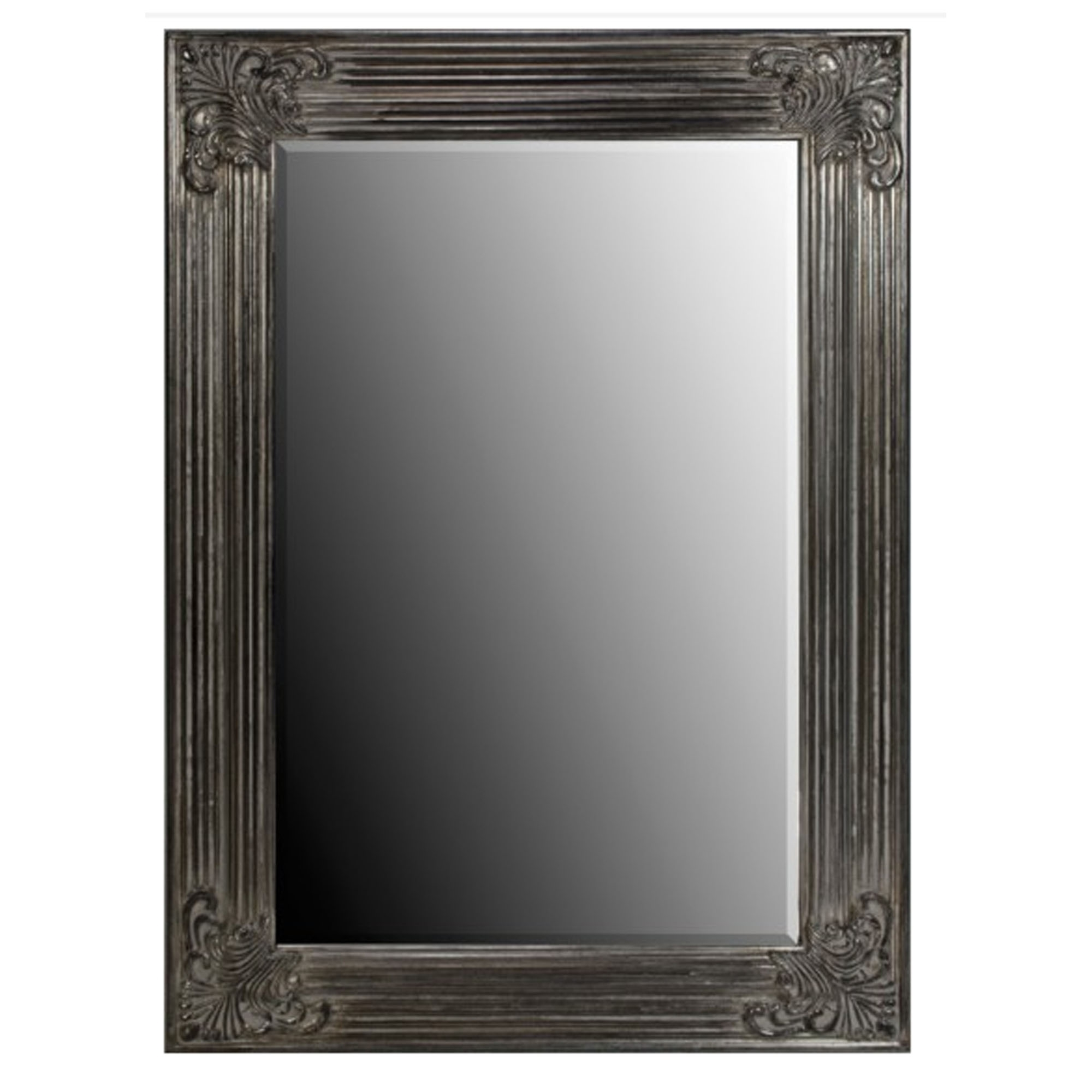 antiqued silver wall mirror modern contemporary furniture
