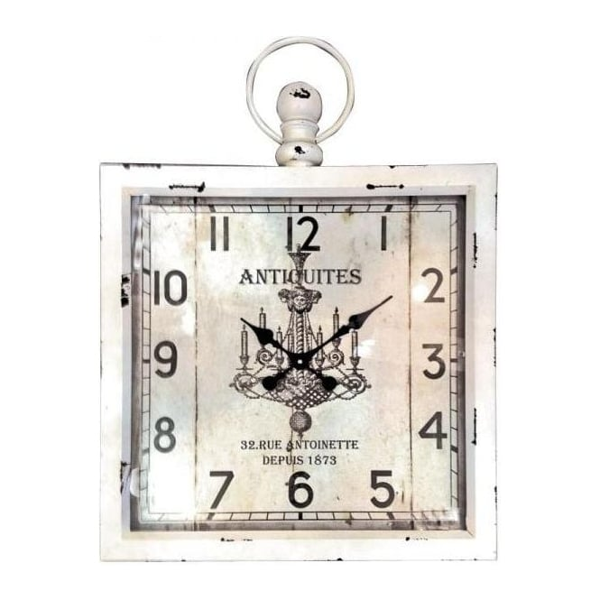 Antiquities Cream Wall Clock